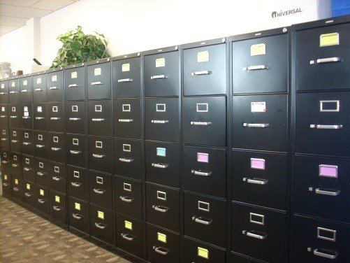 replace filing cabinets with Laserfiche
