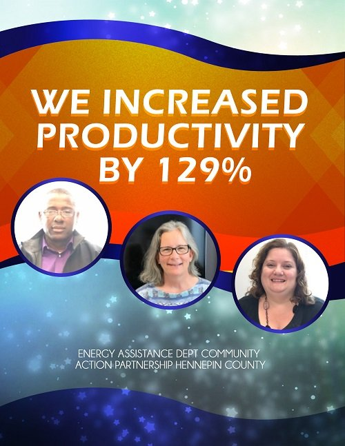 CAP increased productivity by 129%