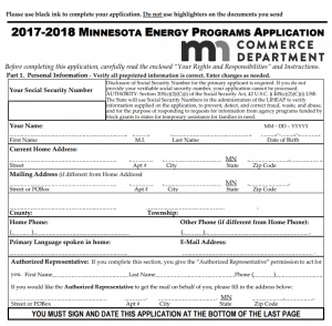 paperless CAP intake form